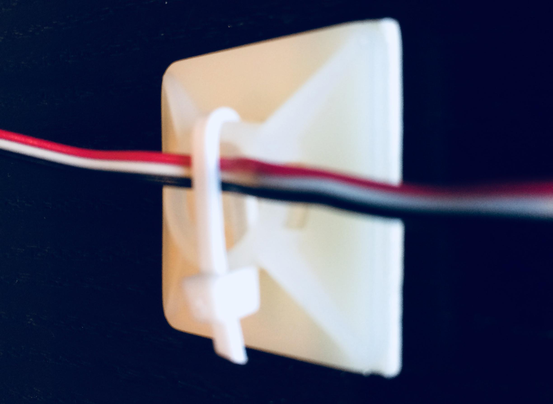 affix temperature sensor